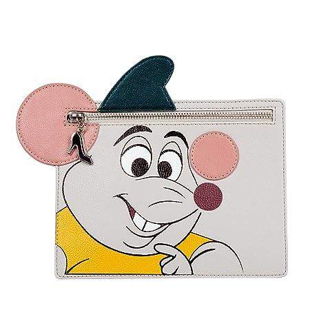 Danielle Nicole - Cartera cremallera Licencia Disney La Cenicienta - Ratoncito Gus