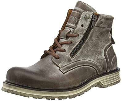 low priced 4bfd7 75f8d Yellow Cab Men's Lancer M Cold Lined Biker Boots Short Shaft ...