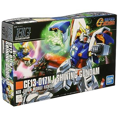 "HGFC 1/144 Shining Gundam Plastic Model from ""Mobile Fighter G Gundam"": Toys & Games"