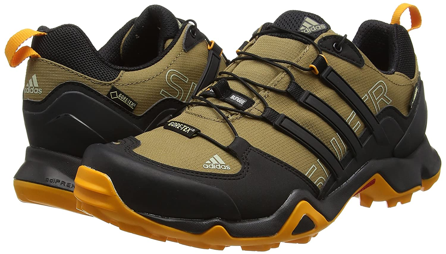 Amazon.com | adidas Terrex Swift R GTX Walking Shoe - SS16-12.5 - Brown | Rain Footwear