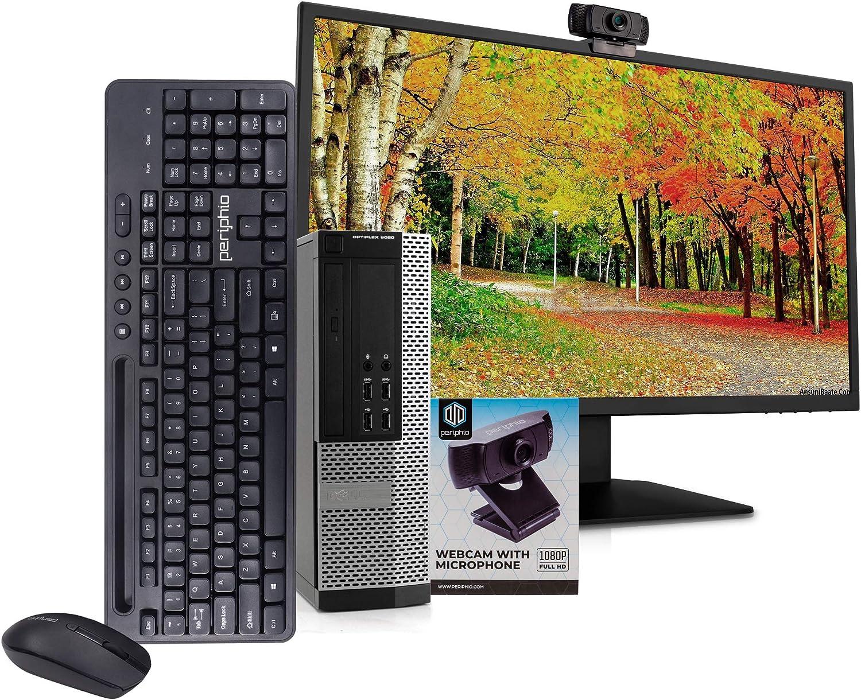 Dell 9020 PC Desktop Computer, i5-4570, 16GB RAM, 512GB SSD, Windows 10 Pro, New 23.6