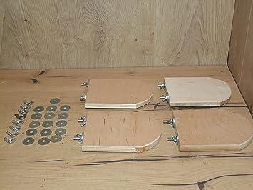 The Wood Mans76 Sitzbrett Tischlerplatte Verschiedene Größen Und