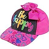 Nickelodeon JoJo Siwa Be Happy Girls Cotton Baseball Cap Age 4-7 Pink