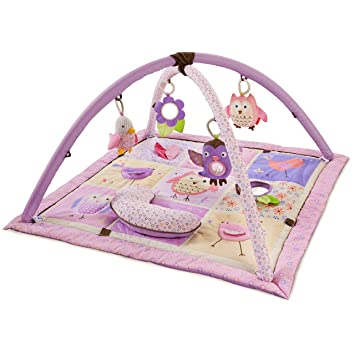 Skip Hop Owl Patch Activity Gym, Purple/Pink