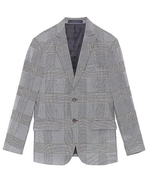 Zara - Chaqueta - para hombre gris 50: Amazon.es: Ropa y ...