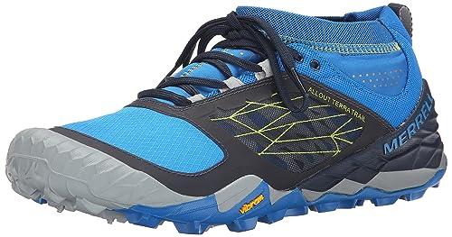980e5c28ea83e Merrell Hombre All out Terra Trail Zapatillas para Correr Negro Size  US  15
