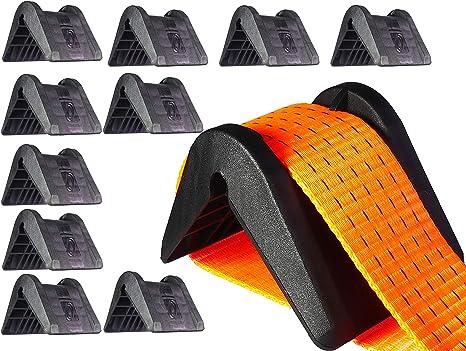 35 mm geschlitzt 25 PU Kantenschutz für Spanngurte f 10 Stk