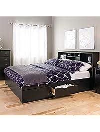 black king mateu0027s platform storage bed with 6