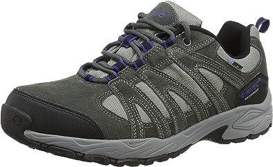 Mens Hi-Tec Alto II Low Waterproof Hiking Walking Shoes Trainers Sizes 6.5 to 12