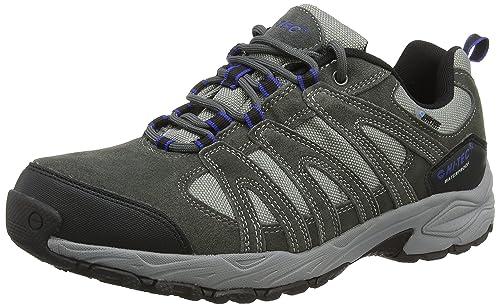 Hi-Tec Alto Ii Low Waterproof, Men Low Rise Hiking Shoes, Grey (