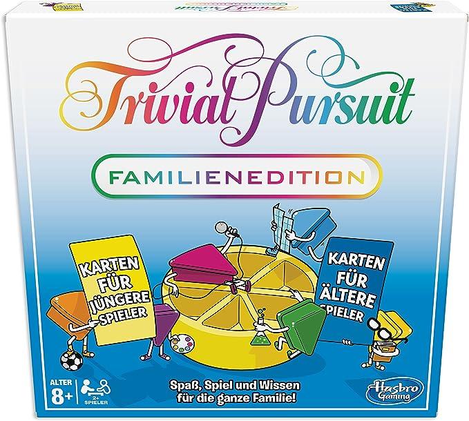 Hasbro Trivial Pursuit Family Edition Juegos de Preguntas Niños y ...
