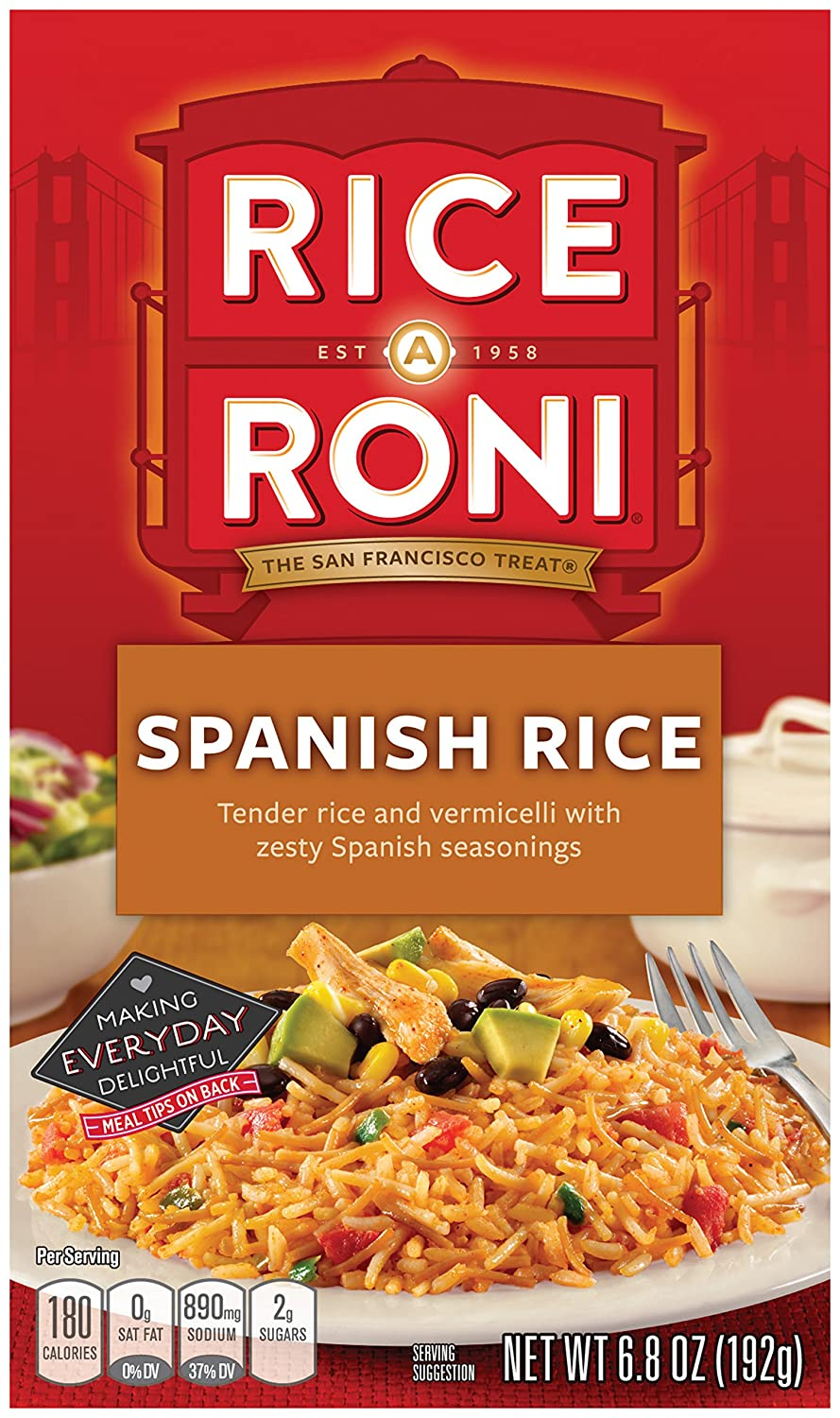 Amazon rice a roni spanish rice mix 68oz pack of 12 boxes amazon rice a roni spanish rice mix 68oz pack of 12 boxes dried brown rice grocery gourmet food forumfinder Image collections