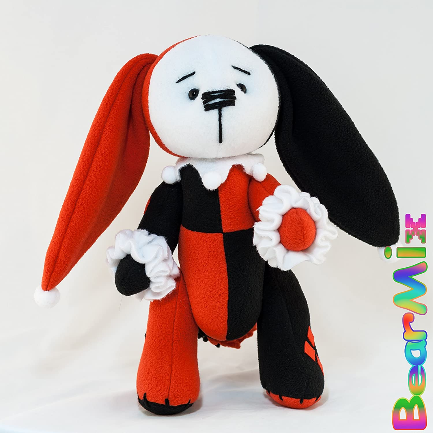 Harley Quinn bunny - dc anti hero movie comic plush toy Injustice League Batman