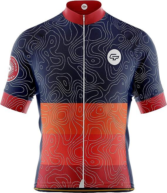 Baisky Cycling-Cycling Kits-Bibs-Map
