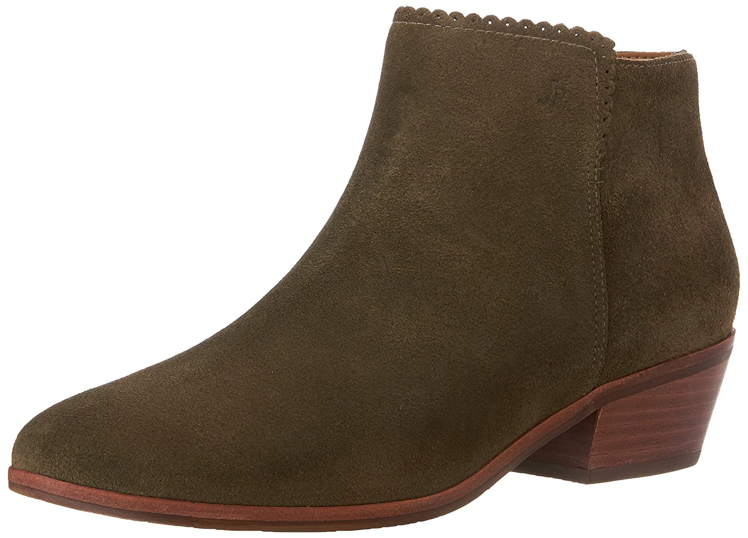 Jack Rogers Women's Bailee Suede Ankle Bootie B00S3Y2IVO 7 B(M) US|Olive