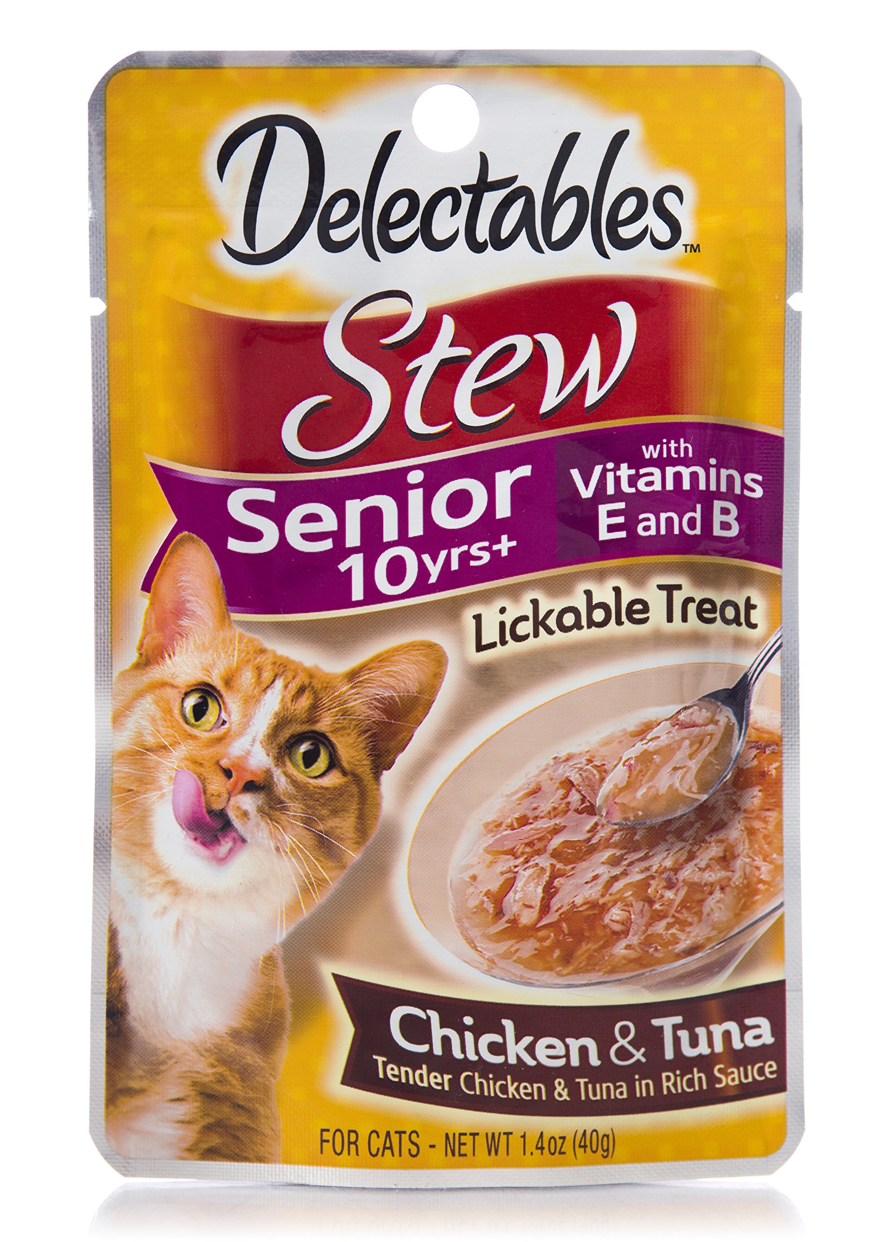 Delectables Stew Lickable Treat Pack of 12 Standard Packaging