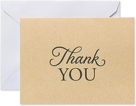 Amazon.com: American Greetings - Tarjetas de agradecimiento ...