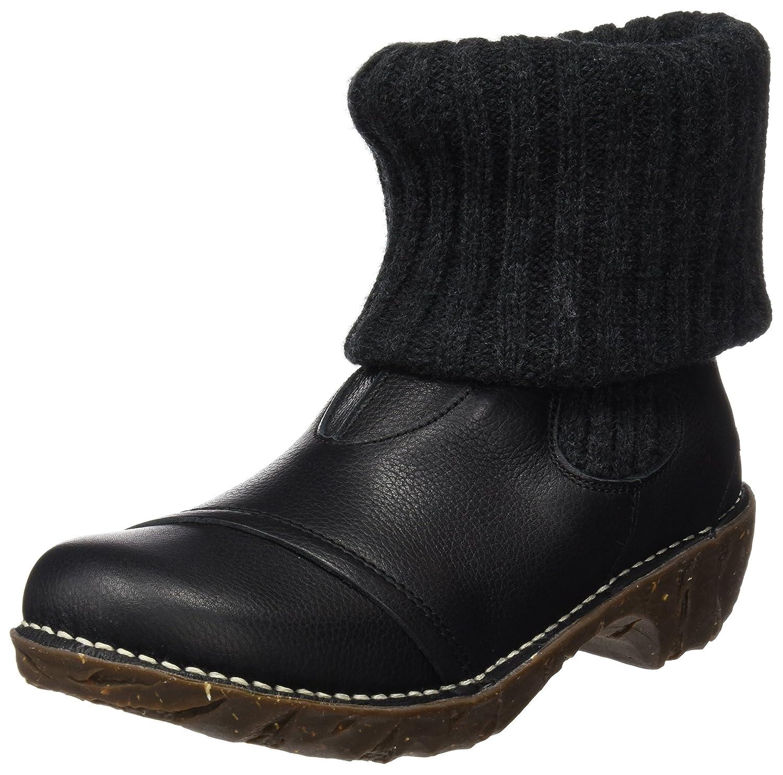 El Naturalista N097 Soft Grain Yggdrasil, Botines para Mujer36 EU|Negro (Black)