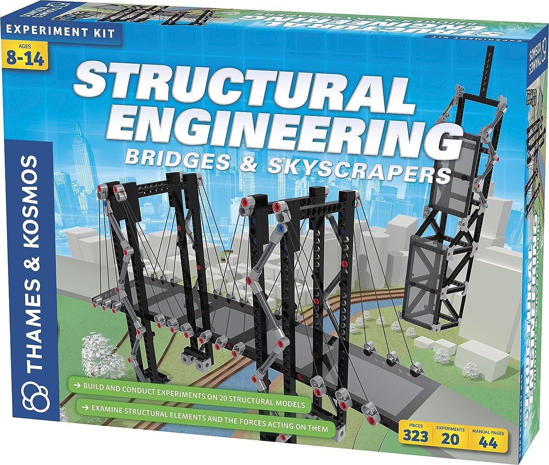 Thames & Kosmos Structural Engineering: Bridges & Skyscrapers | Science & Engineering Kit