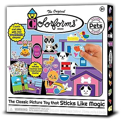 Colorforms Picture Play Set - Pets: Toys & Games