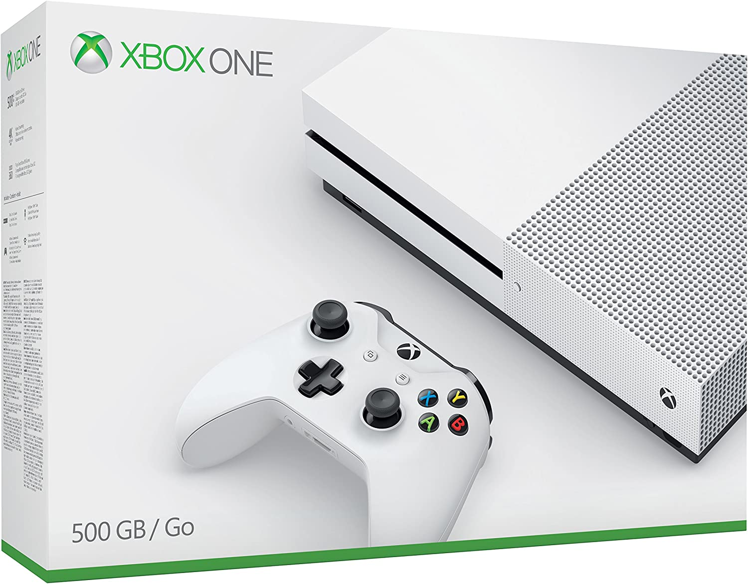 Xbox One S 500 GB [Importación Italiana]: Amazon.es: Electrónica