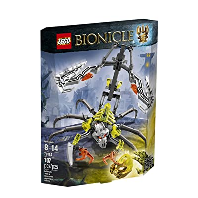 LEGO Bionicle 70794 Skull Scorpio Building Kit: Toys & Games