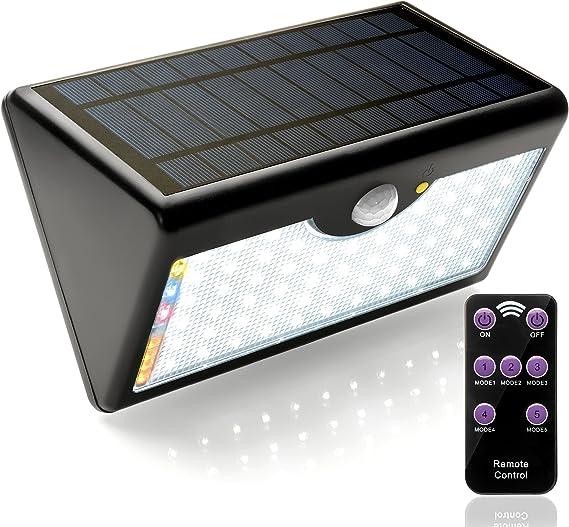 LED Solare Esterno Faretto Rilevatore Di Movimento Eco-Light Lutec Nevada 6101 S-PIR-Taglia SL