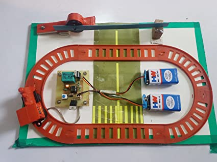 Buy Automatic Train Gate Open Close Science Working Model Online at ...