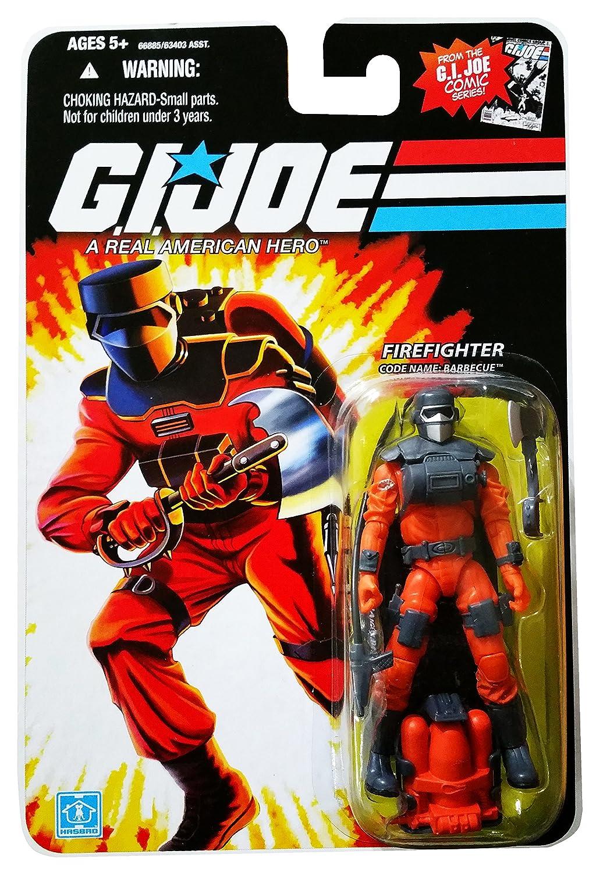 G.I. Joe - Celebrate 25th Anniversary - Wave 9 - FIREFIGHTER - Code Name: BARBECUE - OVP
