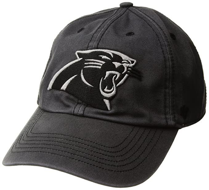 the best attitude 257ee a4551  47 NFL Carolina Panthers Sachem Franchise Fitted Hat, Small, Charcoal