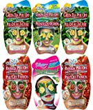 Montagne Jeunesse Peel and Reveal Face Masque Sachets - Pack of 6