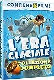 l'era glaciale - collezione completa (5 dvd) box set