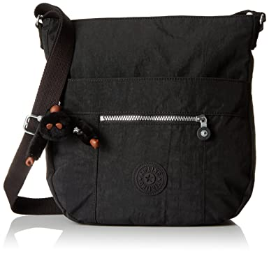 5be4a3afd16 Kipling Bailey Crossbody, Black: Handbags: Amazon.com