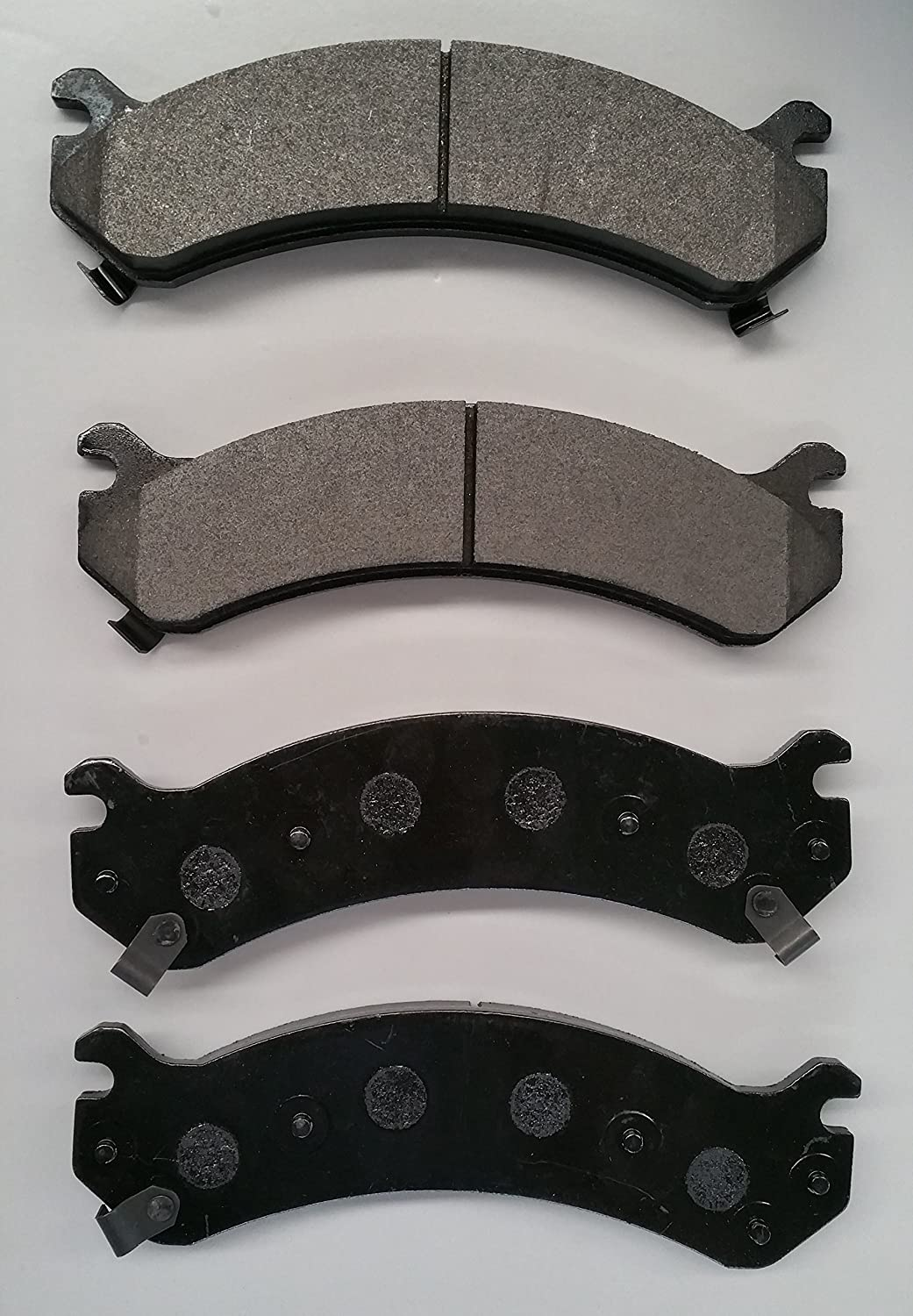 Both Left and Right PROFORCE SMD784 Semi Metallic Disc Brake Pads Set Front