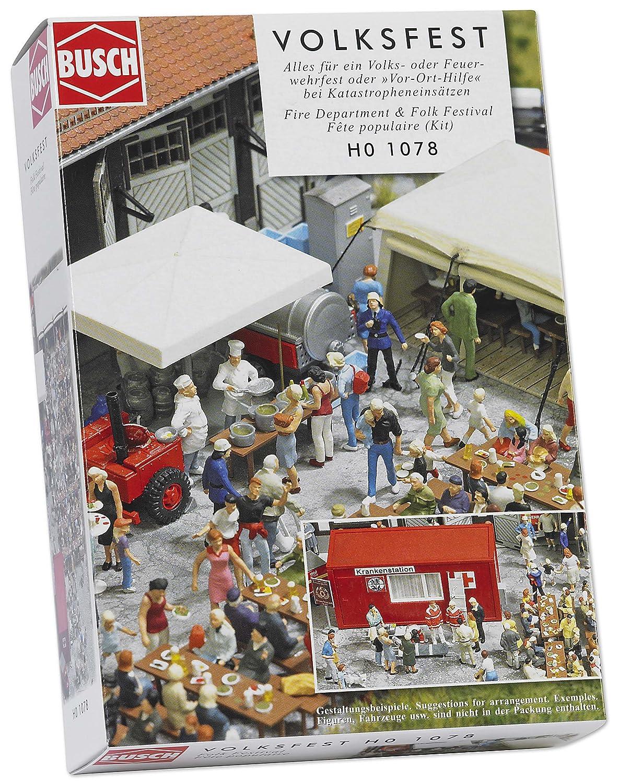Busch 1078 - Feuerwehr- und Volksfest GM-BU1078