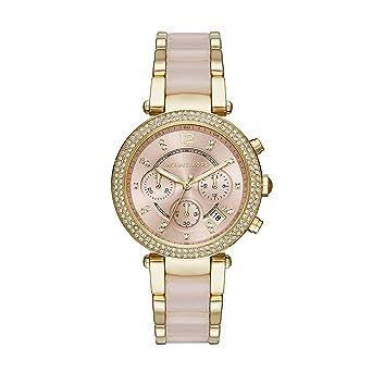 Damenuhren michael kors leder  Michael Kors Damen-Uhren MK6326: Amazon.de: Uhren