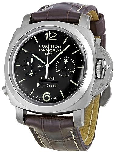 PANERAI RELOJ DE HOMBRE MANUAL 44MM CORREA DE PIEL DE TERNERO PAM00311: Amazon.es: Relojes