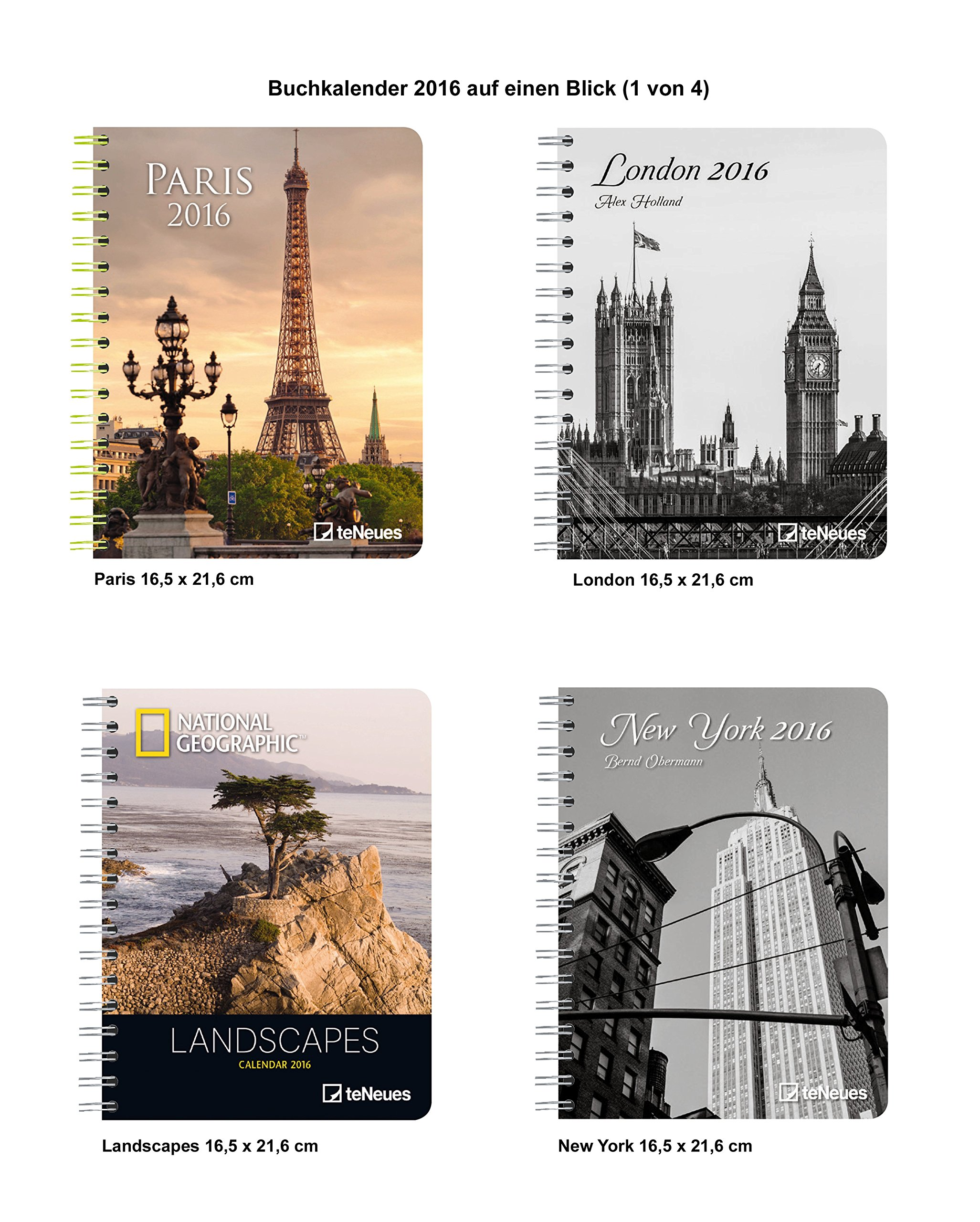 Landscapes 2016 - Large Deluxe Diary - National Geographic ...