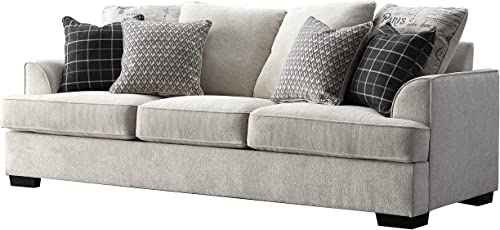 Acanva Luxury Contemporary Chenille Living Room Sofa