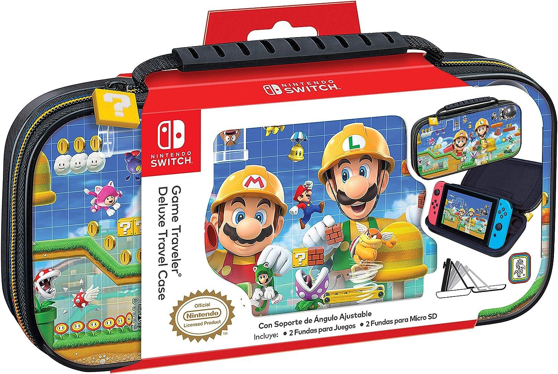 Ardistel - Game Traveler Deluxe Travel Case NNS50C (Nintendo Switch): Amazon.es: Videojuegos