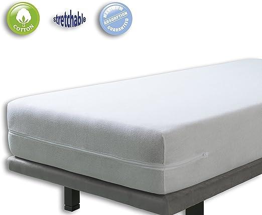 Funda colchón rizo elástica. Cama 90x190(200): Amazon.es: Juguetes ...