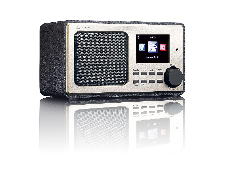 Lenco Radio Internet DIR-100 Num/érique Radios Portables wifi 8.3 cm USB TFT 3 W Noir t/él/écommande