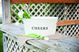 Twine Rustic Farmhouse Decor, Ice Bucket And