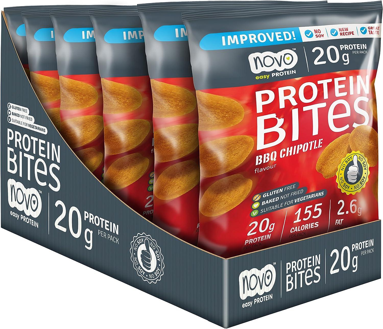 Chips de Proteina Protein Bites sabor BBQ Chipotle 40g