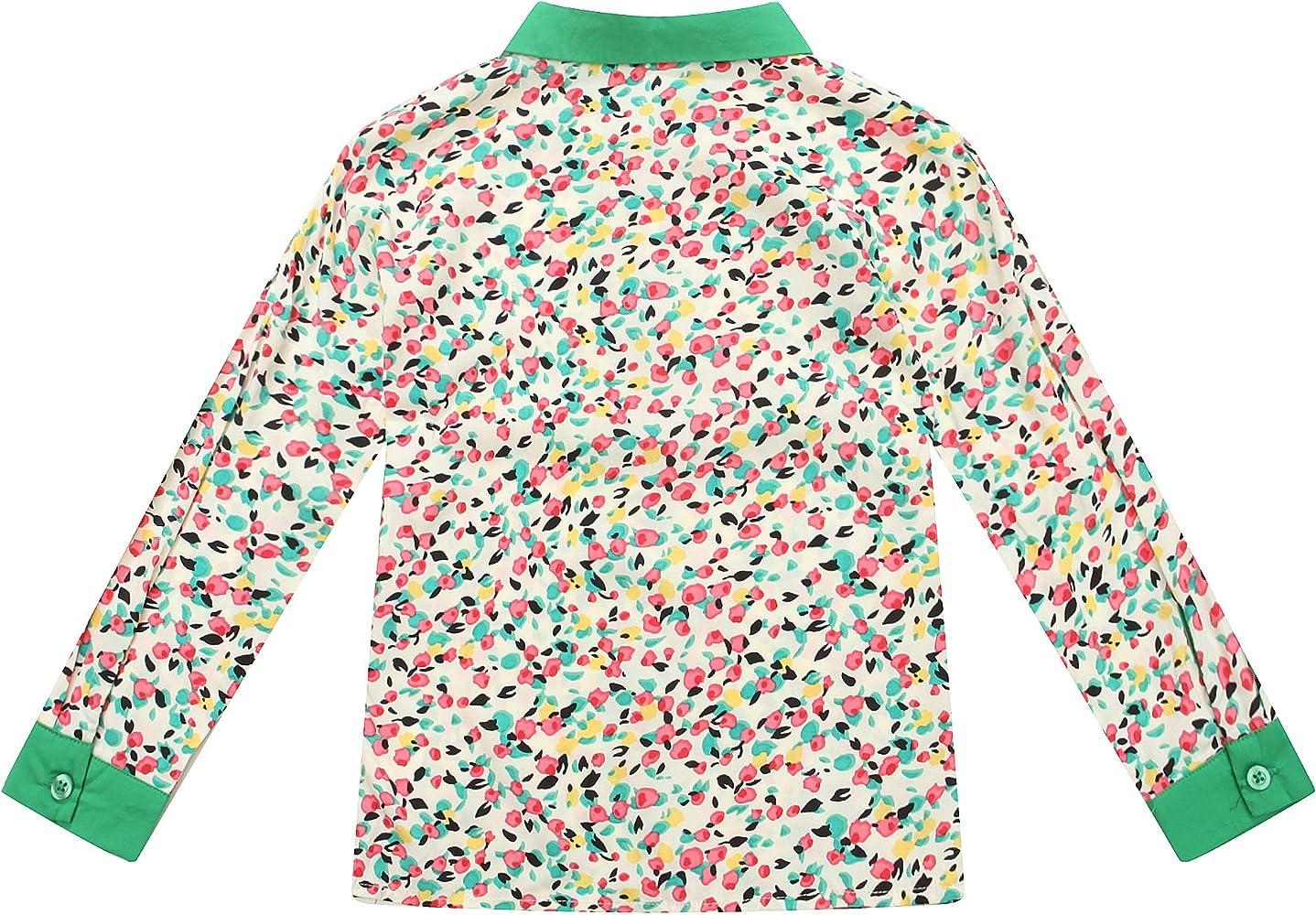 Camisa Richie Casa de las niñas a juego con collar y el brazalete RH1449-9 / 10-FBA: Amazon.es: Ropa y accesorios