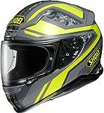 ショウエイ(SHOEI) バイクヘルメット フルフェイス Z-7 PARAMETER(パラメーター) TC-3(YELLOW/GREY) L (頭囲 59cm)