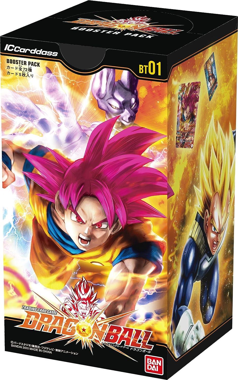 IC Cardass Dragon Ball primera edición, lote de promoción [BT01] (Box) [idioma japonés].: Amazon.es: Juguetes y juegos