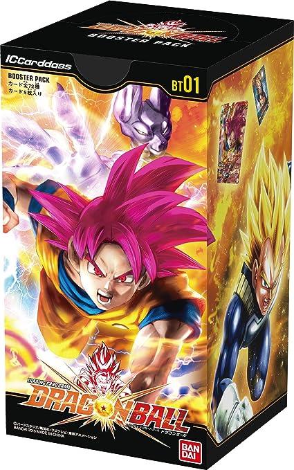 IC Cardass Dragon Ball First Booster Pack [BT01] (BOX ...