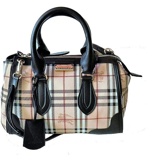 74e8384e6acf Burberry Nova Haymarket Check Gladstone Tote Bag