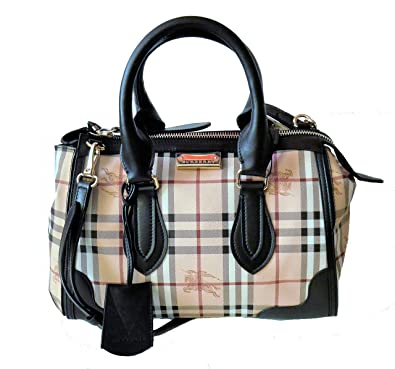 6b61e152c6d7 Amazon.com  Burberry Nova Haymarket Check Gladstone Tote Bag  Shoes